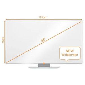 Магнитно-маркерная доска NOBO Widescreen 55 Enamel Whiteboard (1905303)