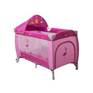 Манеж COTO BABY Samba Lux (розовый)