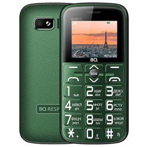 Мобильный телефон BQ-Mobile BQ-1851 Respect (зеленый)