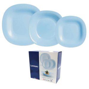 Набор столовый 18 предметов LUMINARC CARINE (10P7629) голубой