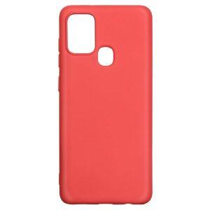 Накладка AKAMI Charm для Samsung Galaxy A21s Красный (15894)