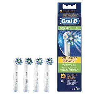 Насадка для электрической зубной щетки ORAL_B Cross Action EB50 (4 шт)