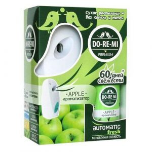 Освежитель воздуха DO-RE-MI PREMIUM Automatic Зеленое яблоко