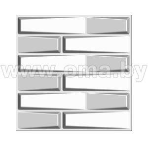 Панель декоративная 3D Feelings 500х500мм для стен и потолка