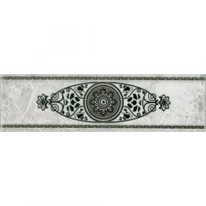 Плитка Цезарь бордюр сер 71х250 арт.272571