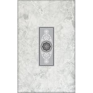 Плитка Цезарь декор серый 250х400 арт.342571