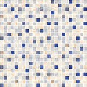 Плитка Гламур напольная 7П голубой микс 400х400 (ОАО Керамин)