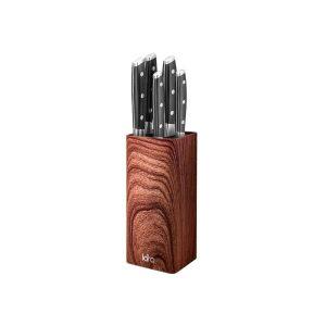 Подставка для ножей Lara LR05-102 (коричневый)