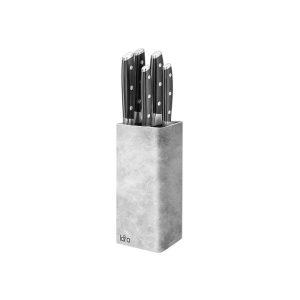 Подставка для ножей Lara LR05-102 (серый)