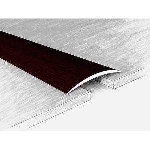 Порог алюминиевый 120-315Н полукруглый 40 мм/0-5 мм/1
