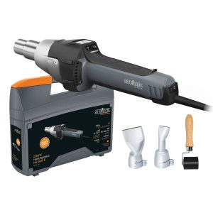 Промышленный фен Steinel HG 2620 E + набор для пайки кровли и брезента (008291)