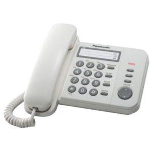 Проводной телефон Panasonic KX-TS2352RUW
