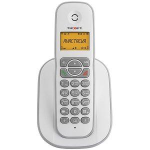 Радиотелефон DECT TEXET TX-D4505A белый/серый