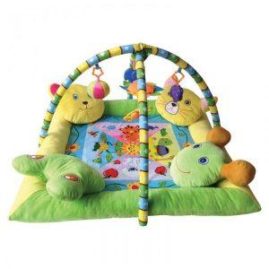 Развивающий коврик LORELLI Звери на подушках