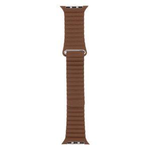Ремешок Evolution Leather Loop AW40-LL01 для Apple Watch 38/40 мм (nut brown)