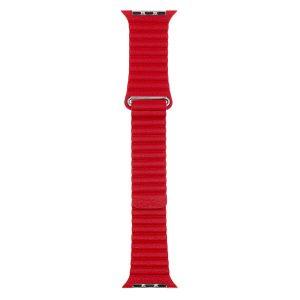 Ремешок Evolution Leather Loop AW44-LL01 для Apple Watch 42/44 мм (imperial red)