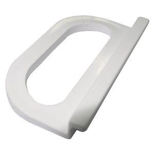 Ручка москитной сетки 2 шт белая