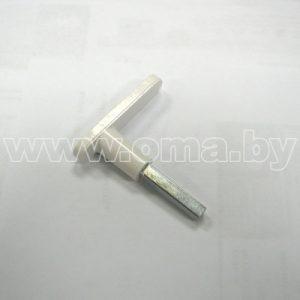 Ручка оконная Р1 (без накладки) (ЧУП Тифлос ОО БелТИЗ)
