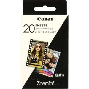Самоклеющаяся фотобумага Canon Zink ZP-2030 20 л