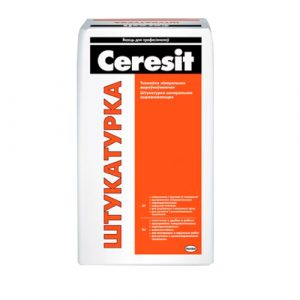 Штукатурка цементная Ceresit