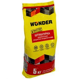 Штукатурка цементная WUNDER