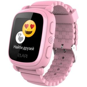 Smart часы Elari KIDPHONE 2 KP-2 (розовый)