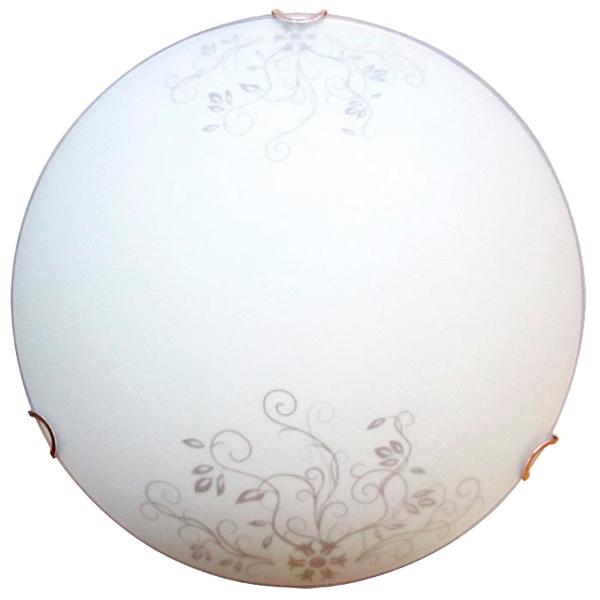 Светильник настенно-потолочный Элетех Акация 250 НПБ 01-60-130 М15 матовый белый