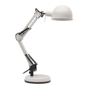 Светильник настольный Kanlux PIXA KT-40-W белый