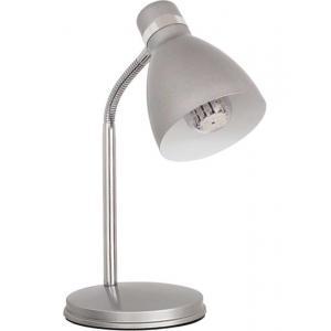 Светильник настольный (уч) 7560 ZARA HR-40-SR серебр (1*40Вт