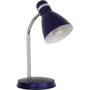 Светильник настольный (уч) 7562 ZARA HR-40-BL синий (1*40Вт