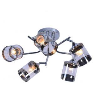 Светильник подвесной (М) Сфера НПБ 04-5х60-721 1096/5 хром (5*60Вт