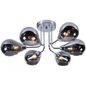 Светильник подвесной (М) Сфера НПБ 04-6х40-521 1194/6 хром (6*40Вт