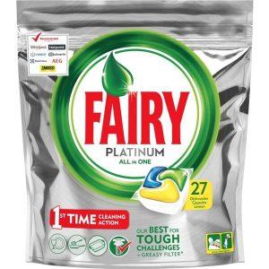 Таблетки для ПММ FAIRY All in 1 Лимон 24шт