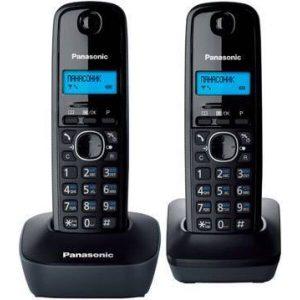Телефон стандарта dect PANASONIC KX-TG1612RUH