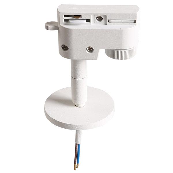 Трековое крепление с однофазным адаптером 592056 ASTA белый Lightstar