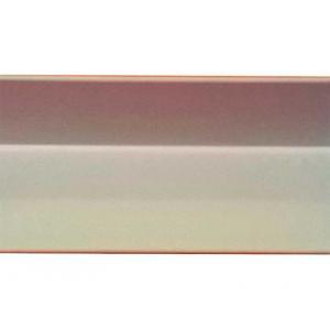 Уголок декоративный 014 ПВХ 15х15х2700 мм кремовый