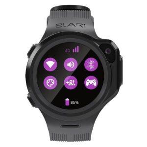 Умные часы ELARI KidPhone 4GR (черный)