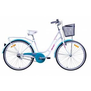 Велосипед AIST Avenue 26 2021 (бело-бирюзовый)