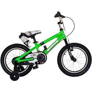 Велосипед Royal Baby Freestyle Alloy 14 (RB14B-7) зеленый