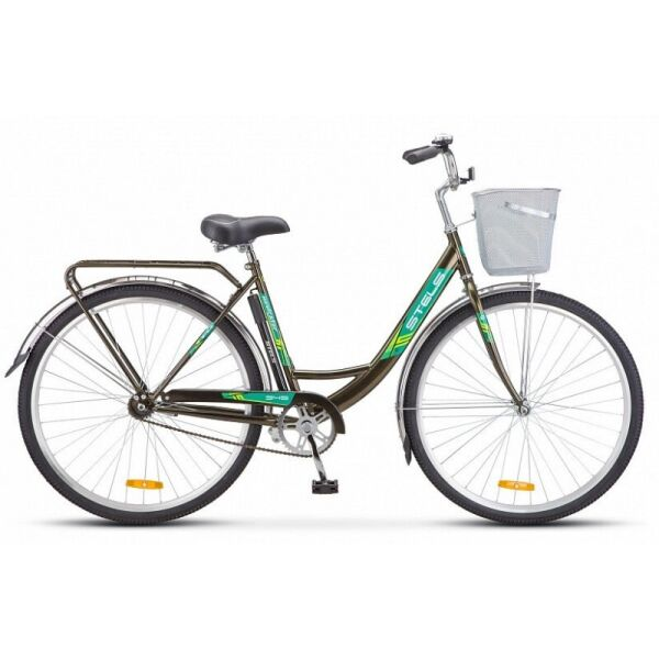 Велосипед Stels Navigator 345 28 Z010 (темно-оливковый)