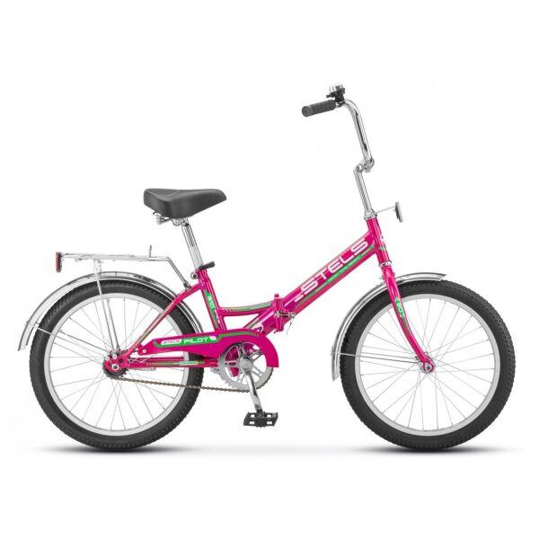Велосипед Stels Pilot 310 20 Z011 (малиновый)
