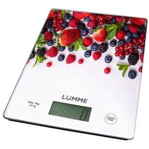 Весы кухонные LUMME LU-1340 лесная ягода