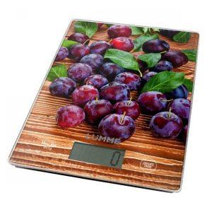 Весы кухонные Lumme LU-1340 (спелая слива)