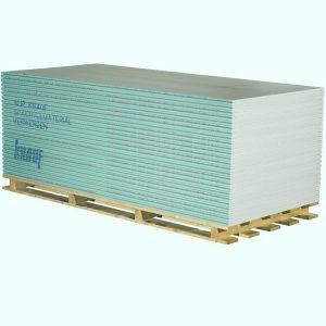 Влагостойкий гипсокартон KNAUF Лист влагостойкий (ГСП-H2) 1500x600x12.5 (ПЛУК