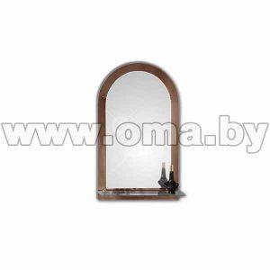 Зеркало «Виктория» 800*500 мм арт. 8С-Е/272 (СООО Алмаз-люкс)