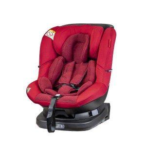 Автокресло COLETTO Millo Isofix (красный)