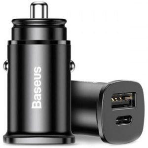 Автомобильное зарядное Baseus CCALL-AS01