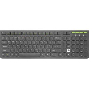 Беспроводная клавиатура Defender UltraMate SM-536 RU