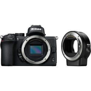 Беззеркальный фотоаппарат Nikon Z50 + FTZ Adapter Kit
