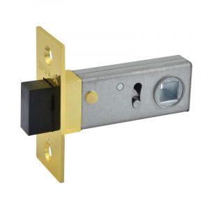 Магнитная дверная защелка C-50М (полир.латунь)